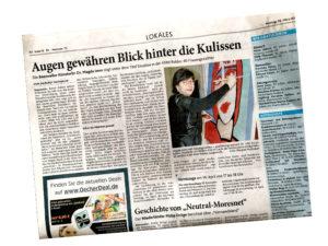 Aachener Zeitung: Augen gewähren Blick hinter die Kulissen