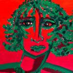Hitze (2018), Acryl, 40x30 cm